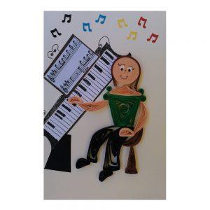 Biglietto Insegnante di musica