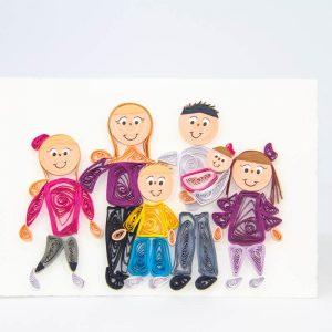 Famiglia 6 personaggi