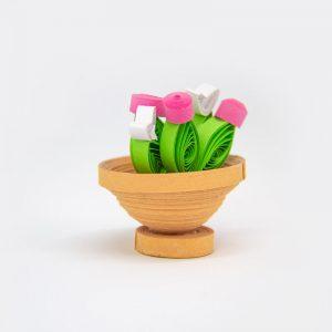 Vasetto di fiori 3D bomboniera / segnaposto